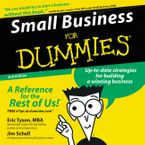 Small Business for Dummies 2nd Ed. Downloadable audio file ABR by Eric Tyson