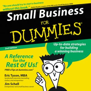 Small Business for Dummies 2nd Ed. book image