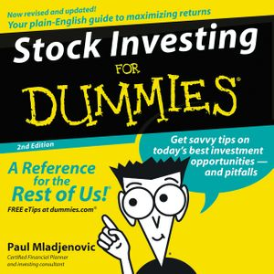 Stock Investing for Dummies 2nd Ed. book image
