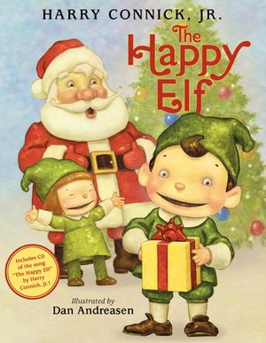 The Happy Elf Book and CD book image
