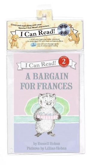 A Bargain for Frances Book and CD book image