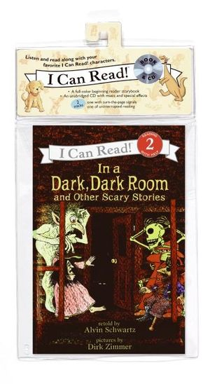 In a Dark, Dark Room and Other Scary Stories Book and CD book image