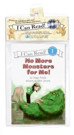 No More Monsters for Me! Book and CD CD-Audio ABR by Peggy Parish