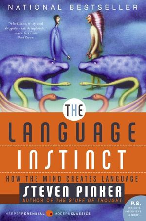 The Language Instinct book image