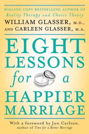 Eight Lessons for a Happier Marriage book image