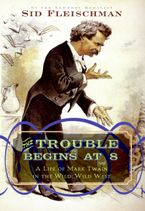 The Trouble Begins at 8 Hardcover  by Sid Fleischman