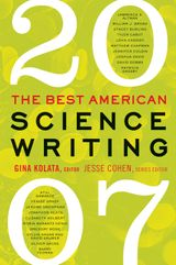 The Best American Science Writing 2007