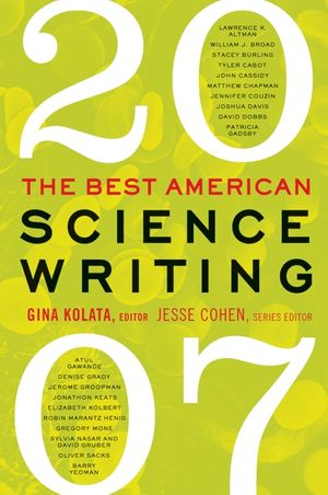 The Best American Science Writing 2007 book image