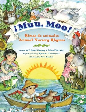 Muu, Moo! Rimas de animales/Animal Nursery Rhymes book image