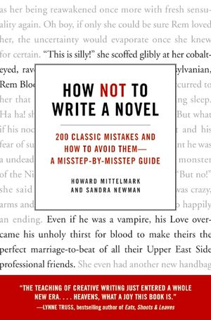 How Not to Write a Novel book image