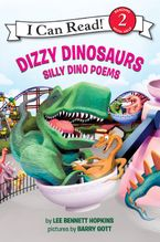 Dizzy Dinosaurs Hardcover  by Lee Bennett Hopkins
