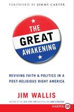 The Great Awakening Paperback LTE by Jim Wallis