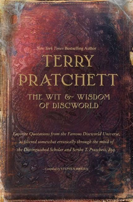 The wit and wisdom of discworld terry pratchett hardcover the wit and wisdom of discworld fandeluxe Image collections