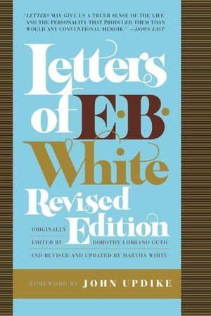 Letters of E. B. White book image