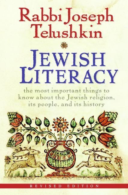 Jewish literacy revised ed joseph telushkin hardcover fandeluxe Gallery
