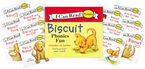 Biscuit 12-Book Phonics Fun!