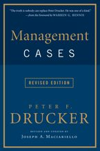 Management Cases, Revised Edition Paperback  by Peter F. Drucker