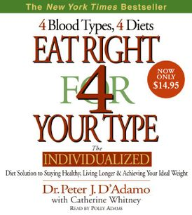 Eat Right for Your Type CD Low Price