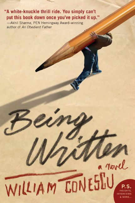 Being written william conescu paperback being written fandeluxe Image collections