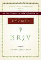 NRSV HarperCollins Catholic Gift Bible (burgundy)