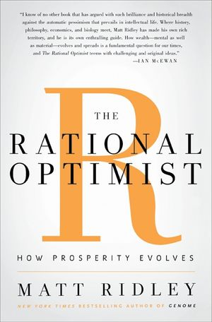 The Rational Optimist book image