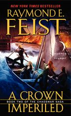 A Crown Imperiled Paperback  by Raymond E. Feist