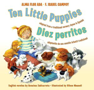 Ten Little Puppies/Diez perritos book image