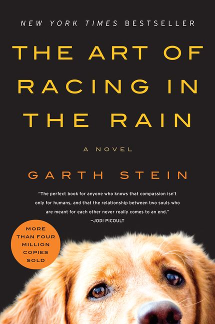 The art of racing in the rain garth stein paperback read a sample enlarge book cover fandeluxe Images