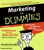 Marketing for Dummies 2nd Ed. Downloadable audio file ABR by Alexander Hiam