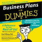 Business Plans for Dummies 2nd Ed. Downloadable audio file ABR by Paul Tiffany