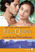 The Lost Duke of Wyndham Paperback LTE by Julia Quinn