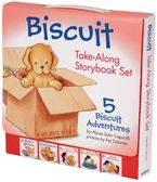Biscuit Take-Along Storybook Set Paperback  by Alyssa Satin Capucilli