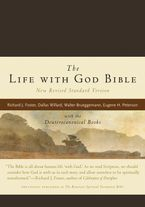 The Life with God Bible NRSV (Compact, Ital Leath, Brown) Hardcover  by Renovare