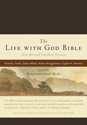 The Life with God Bible NRSV (Compact, Ital Leath, Brown) book image