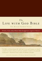 Life with God Bible NRSV, The (Compact, Ital Leath, Burgundy) Hardcover  by Renovare