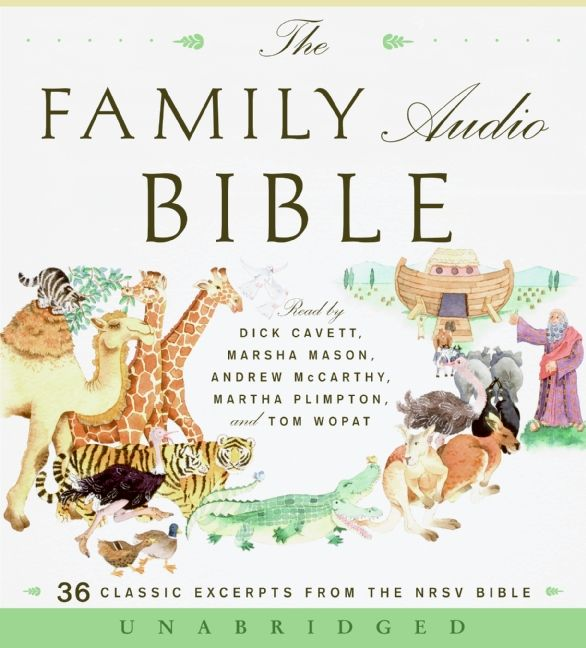 The Family Audio Bible CD - Unknown - CD-Audio
