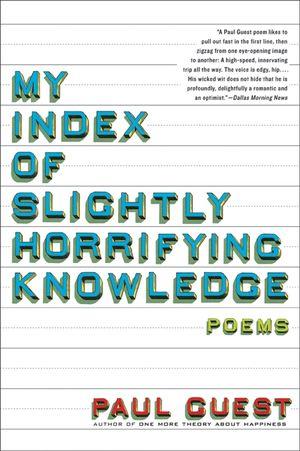 My Index of Slightly Horrifying Knowledge book image