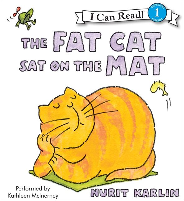 the fat cat sat on the mat nurit karlin digital audiobook. Black Bedroom Furniture Sets. Home Design Ideas