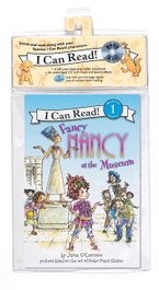 Fancy Nancy at the Museum Book and CD CD-Audio  by Jane O'Connor