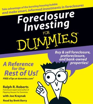 Foreclosure Investing For Dummies book image