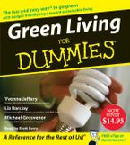 Green Living for Dummies Downloadable audio file ABR by Liz Barclay