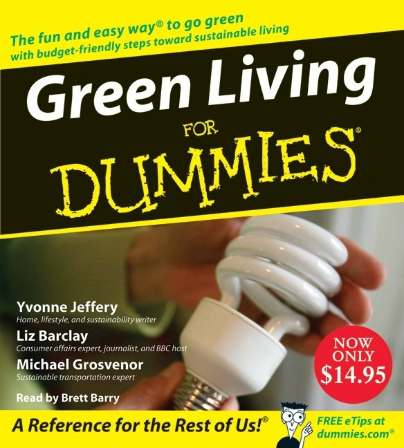 green living for dummies liz barclay digital audiobook enlarge book cover