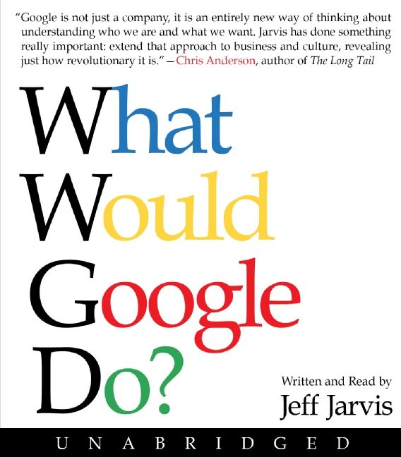 Book cover image: What Would Google Do? CD
