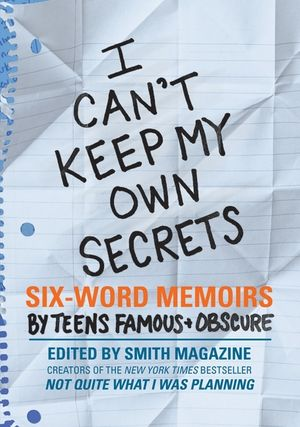 I Can't Keep My Own Secrets book image