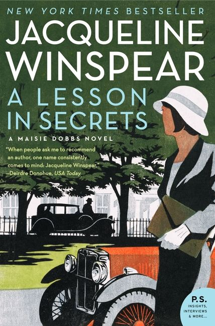 A Lesson in Secrets - Jacqueline Winspear - Paperback