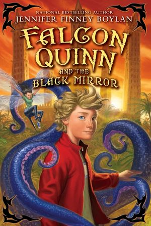 Falcon Quinn and the Black Mirror book image