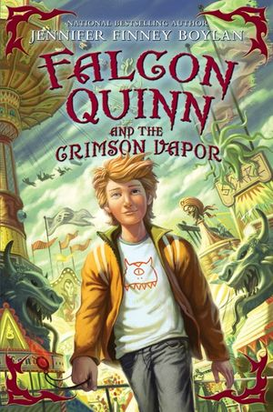 Falcon Quinn and the Crimson Vapor book image