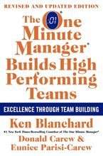 The One Minute Manager Builds High Performing Teams Hardcover  by Ken Blanchard