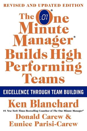 The One Minute Manager Builds High Performing Teams book image