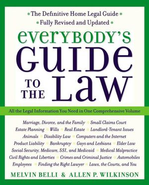Everybody's Guide to the Law- Fully Revised & Updated book image